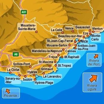 Hotels in French Riviera
