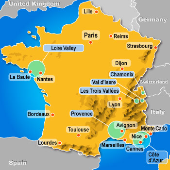 Discount hotels in France